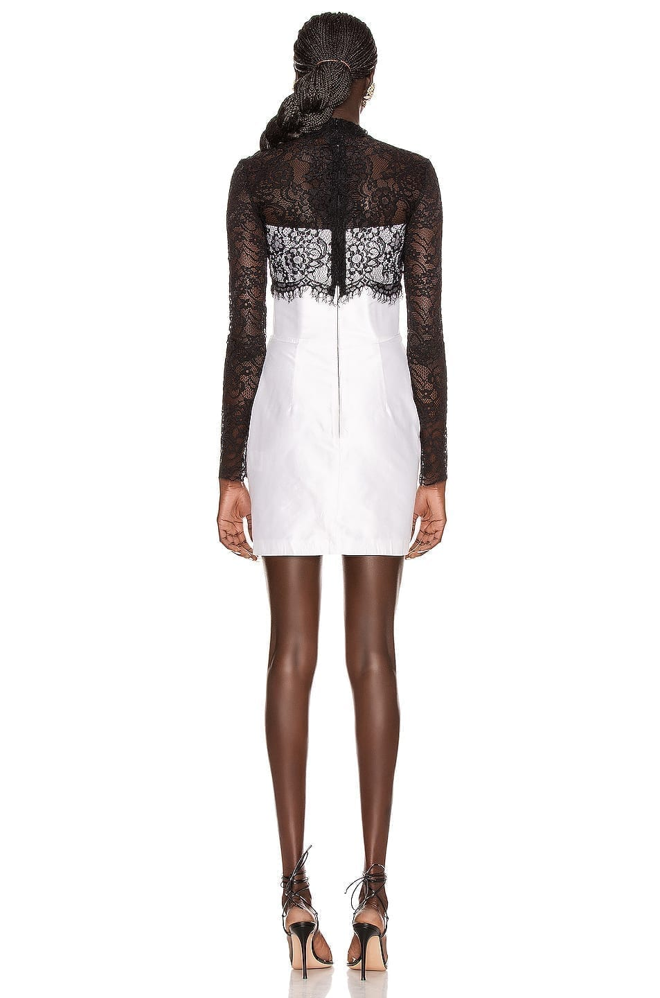 RASARIO Lace Corset Mini Dress