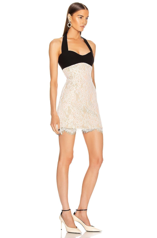 RASARIO Lace Mini Dress