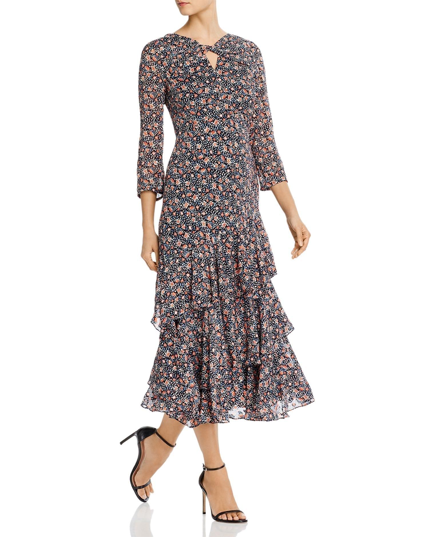 REBECCA TAYLOR Twilight Ruffled Dress