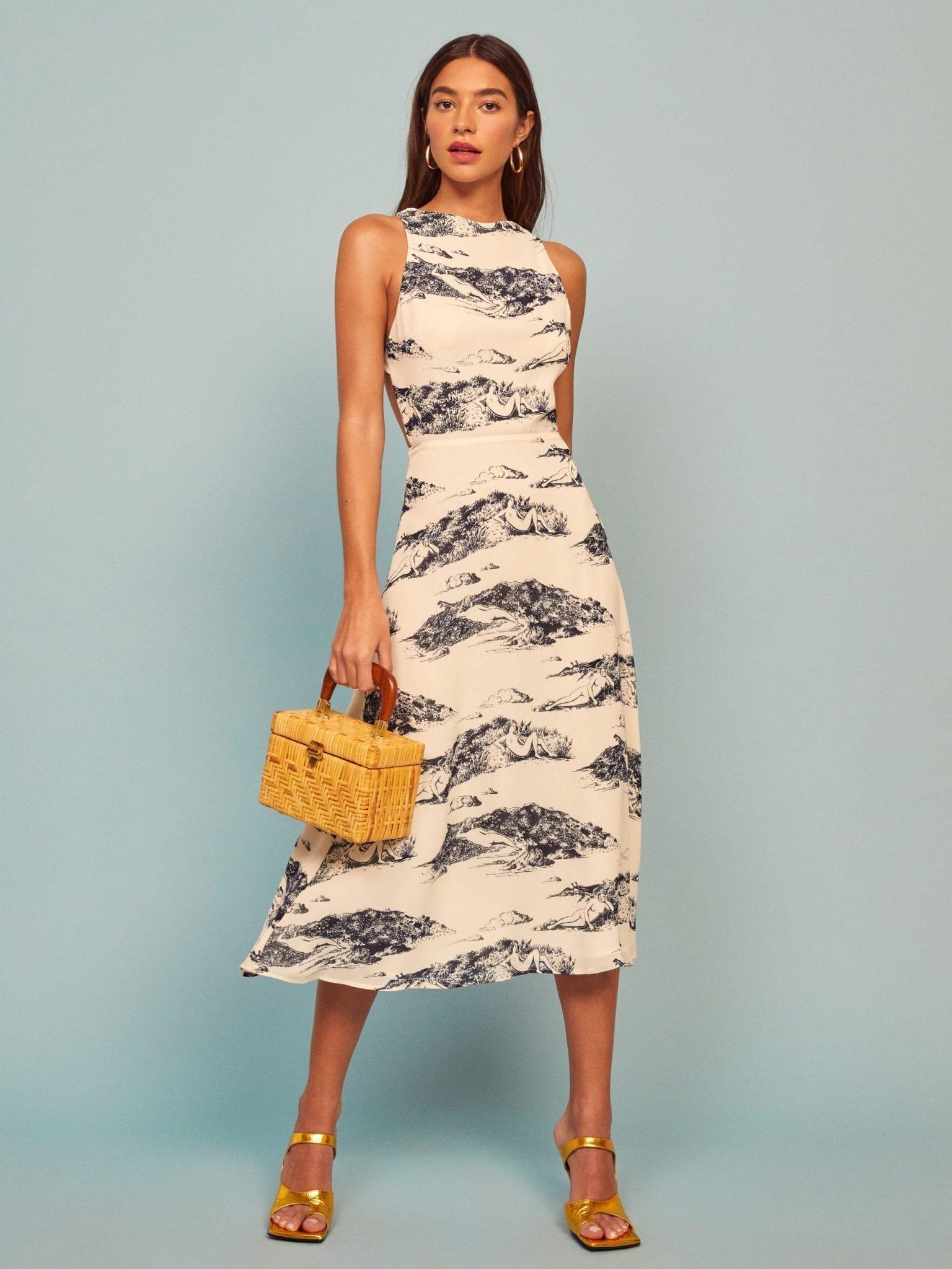 REFORMATION Harleen Dress
