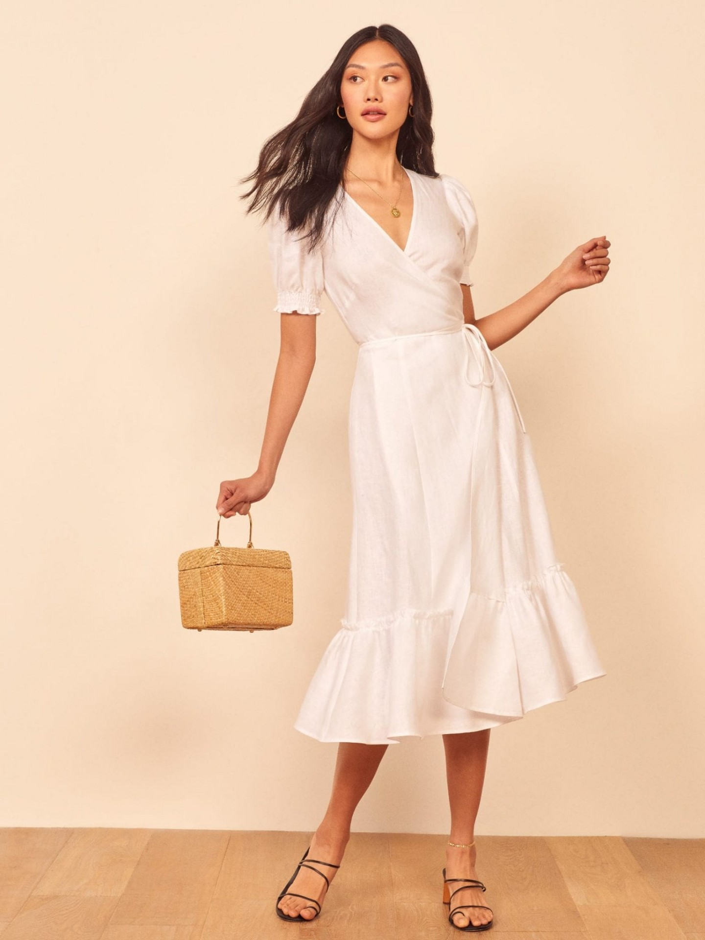 REFORMATION Veronika Dress