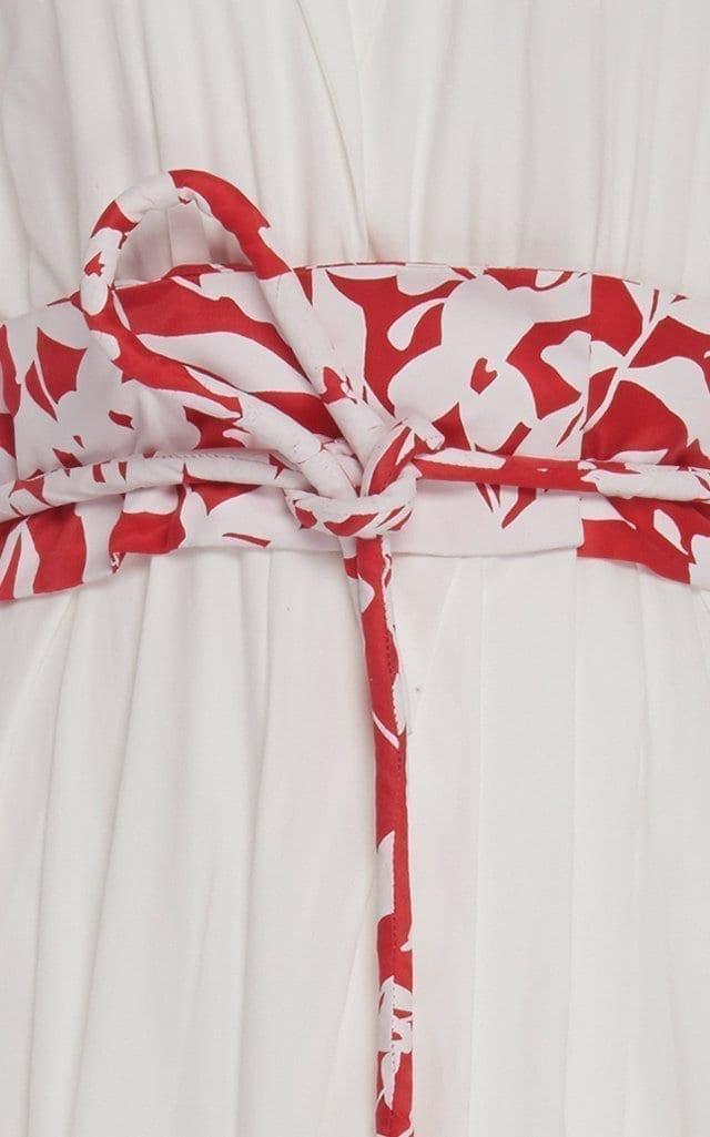 ROSIE ASSOULIN Belted Cotton-Poplin Shirt Dress