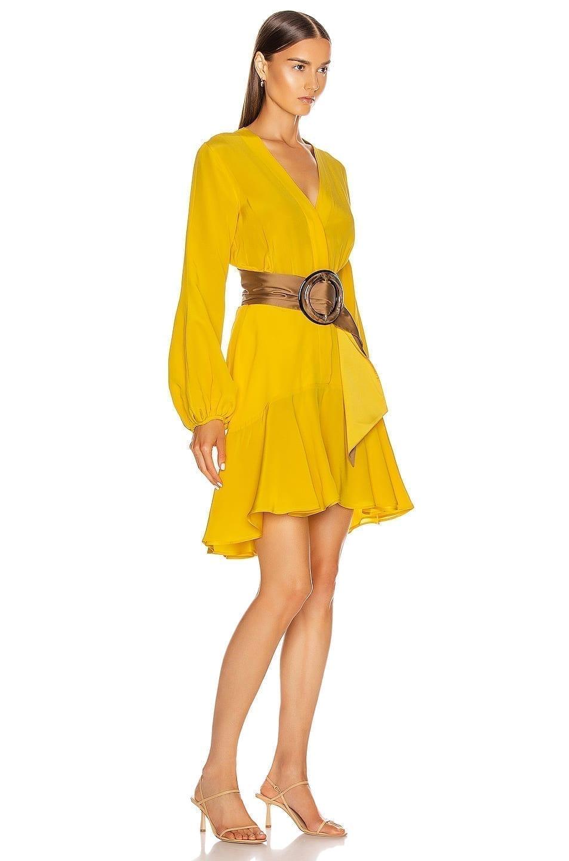 SILVIA TCHERASSI Filis Belt Dress