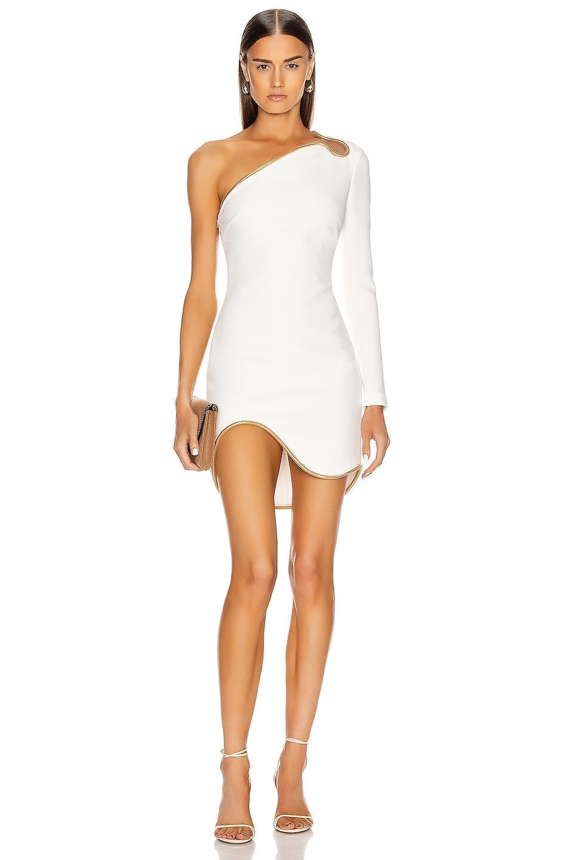 STELLA MCCARTNEY Dianna One Shoulder Mini Dress