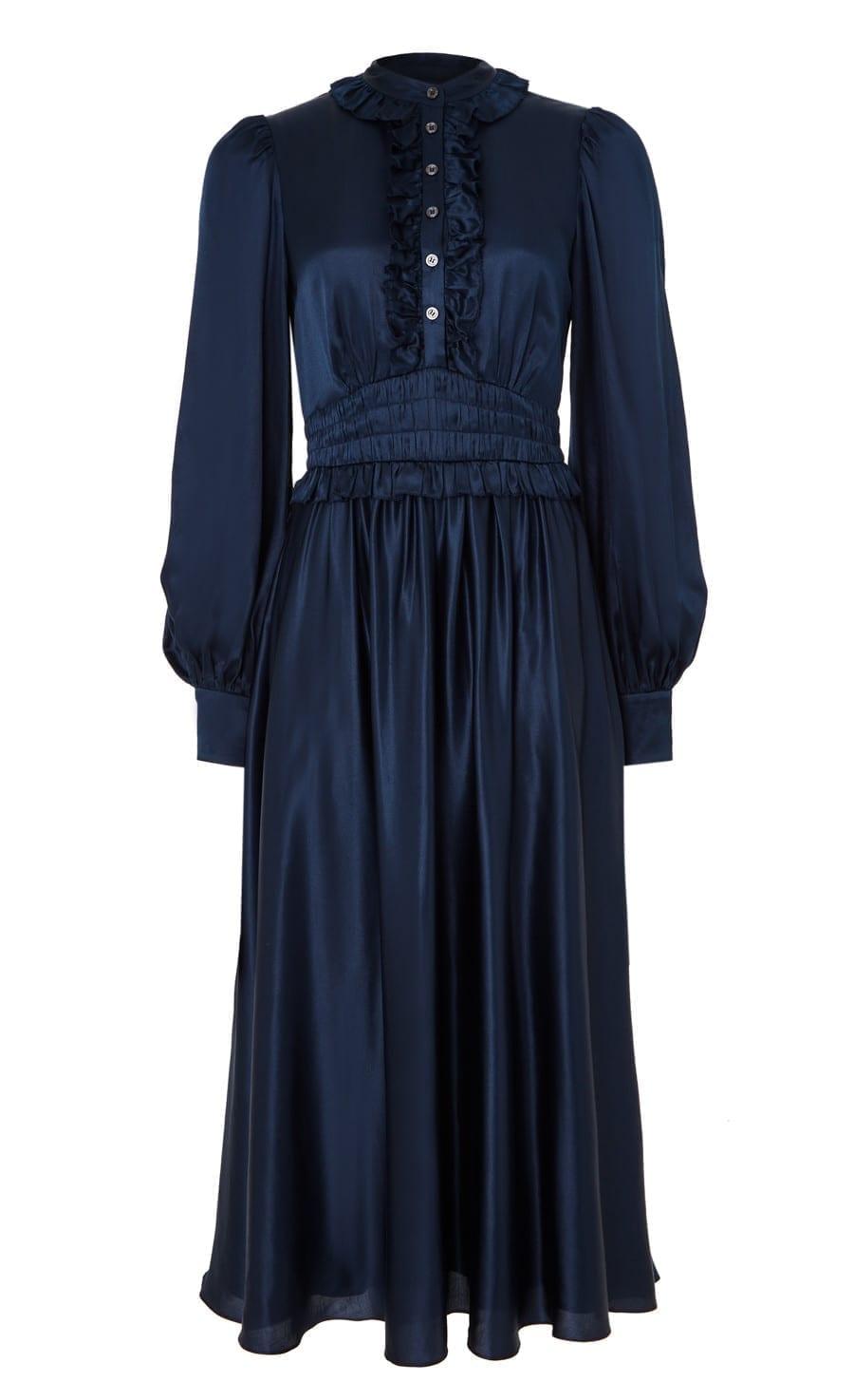 TEMPERLEY Birdie Midi Dress