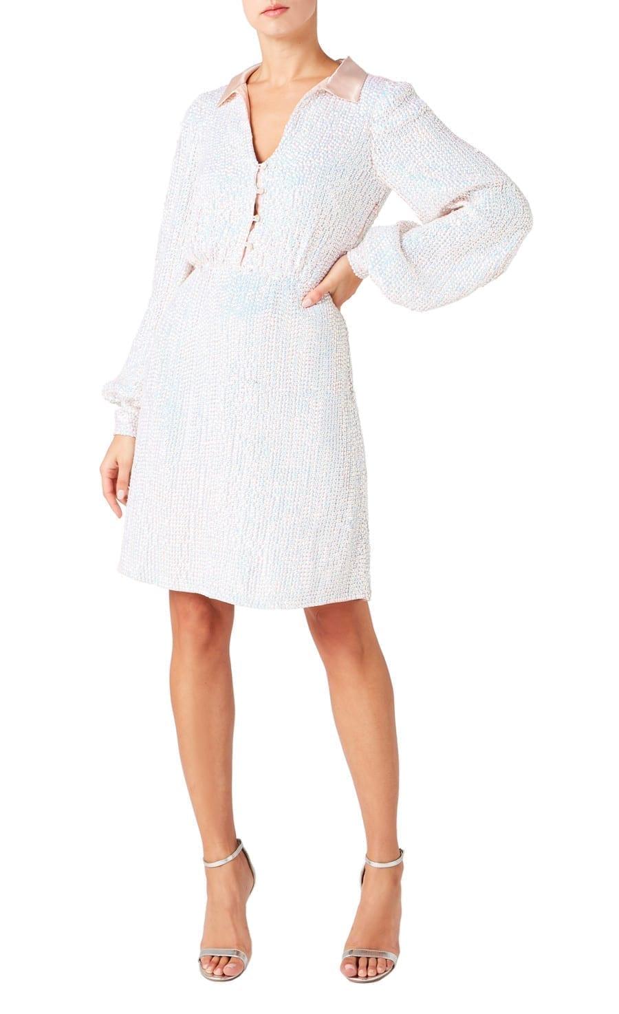TEMPERLEY Constellation Short Dress