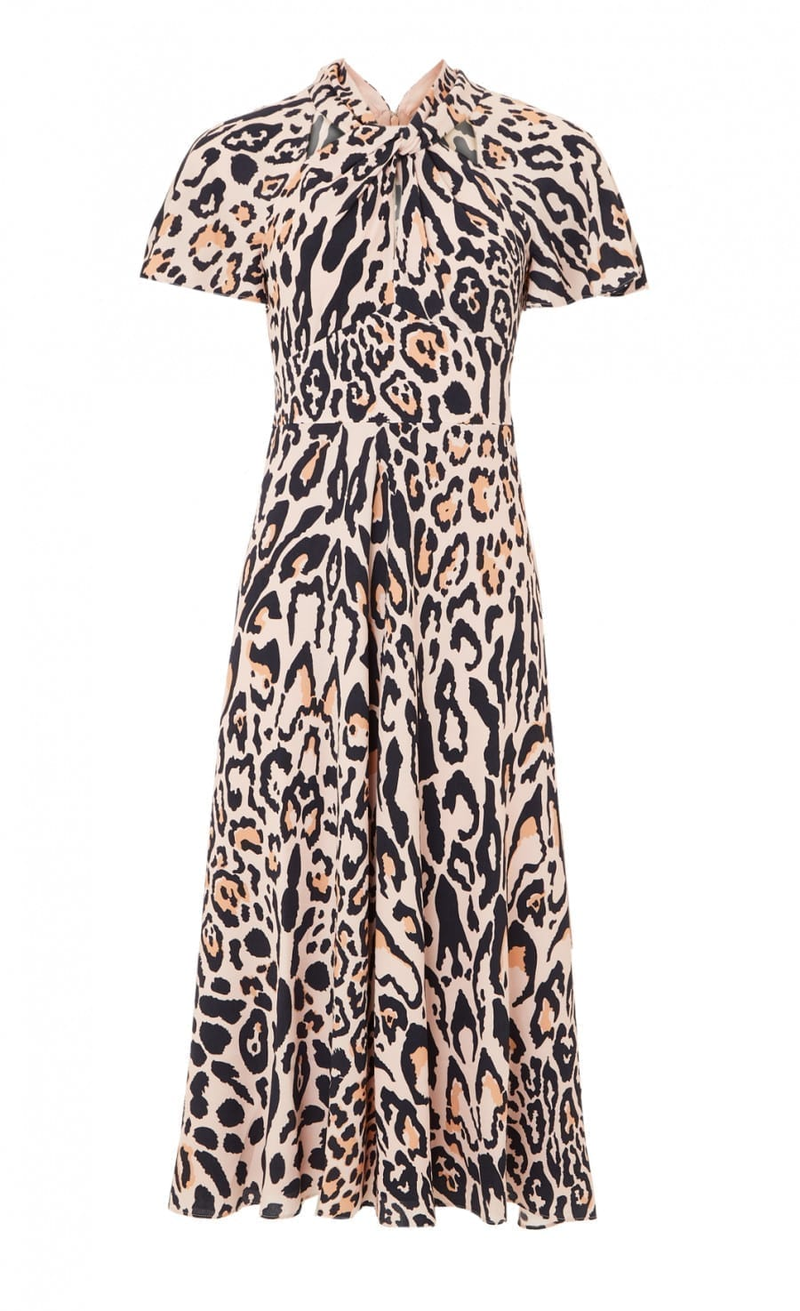 TEMPERLEY Wild Cat Midi Dress