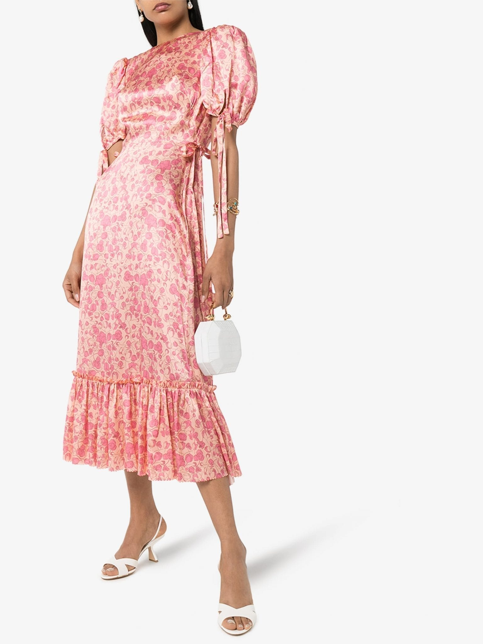 THE VAMPIRE'S WIFE Honey Trap Floral Silk Dress