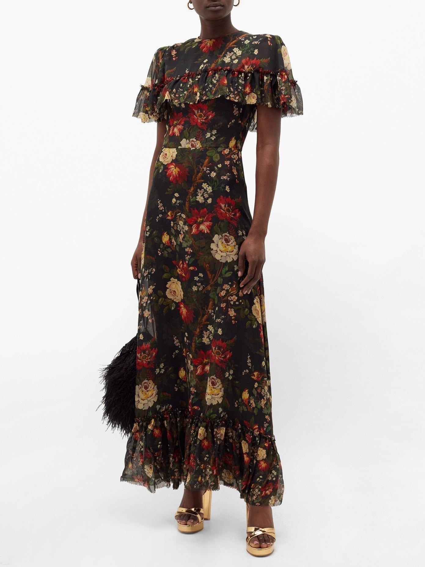 THE VAMPIRE'S WIFE The Bombette Lady Kristina Liberty Silk Dress