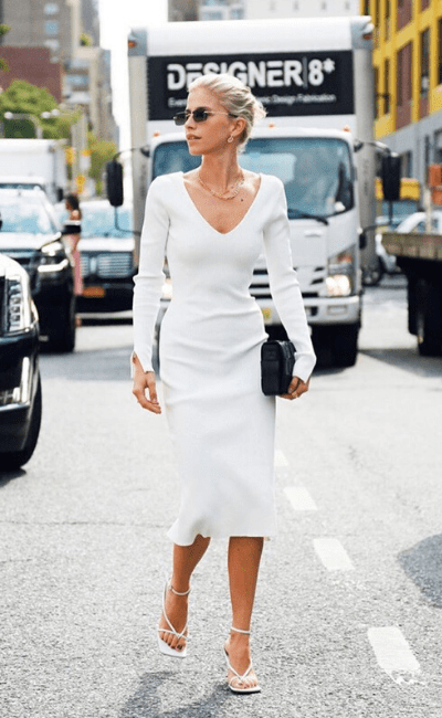 Get The Look: Caroline Daur's White Day Dress