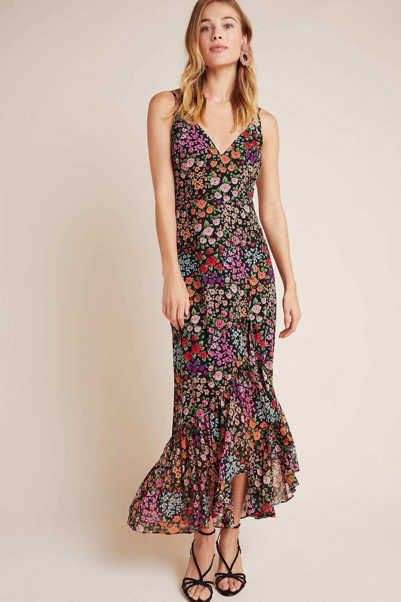 YUMI KIM Roxie Ruffled Maxi Dress