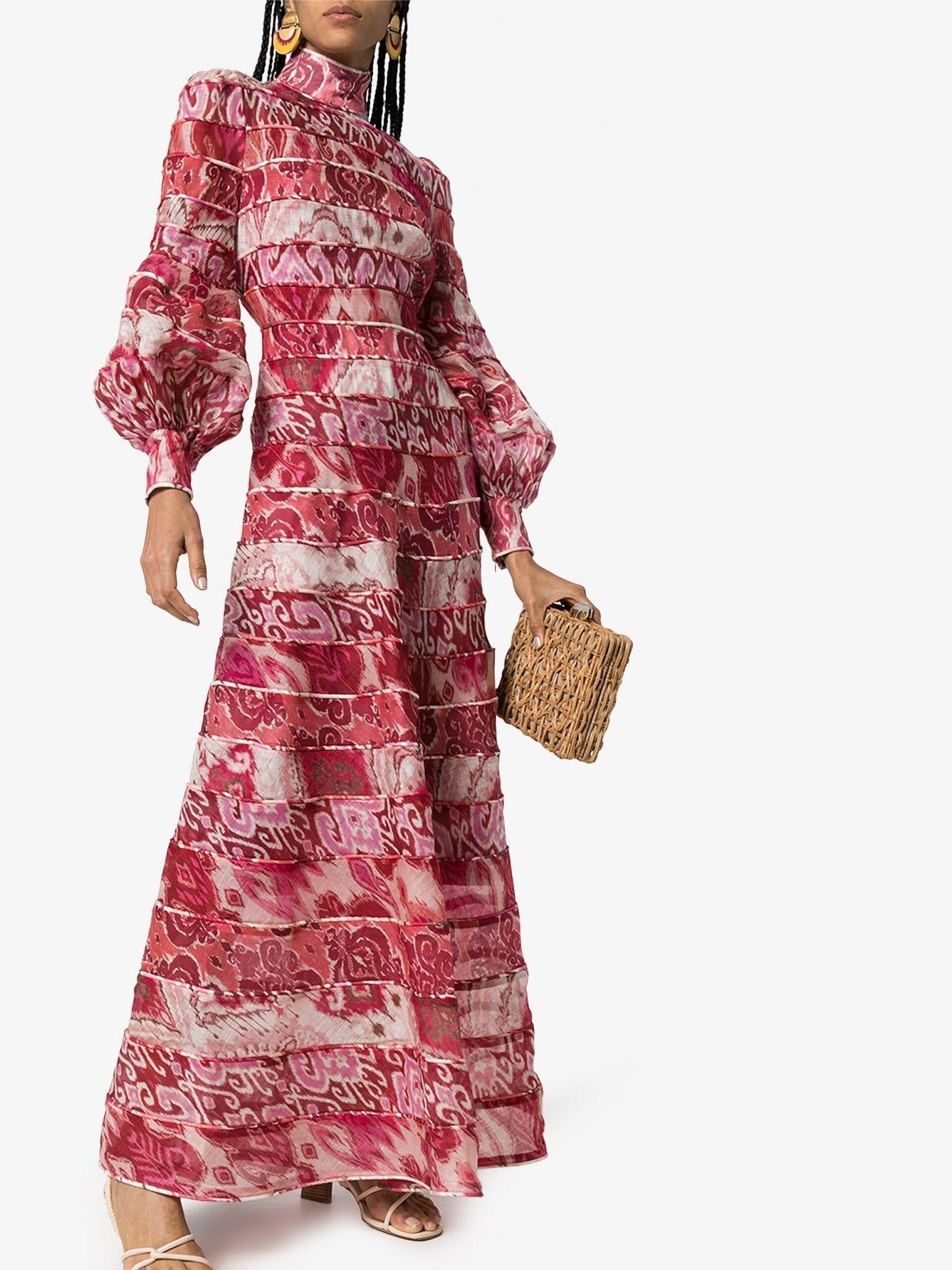ZIMMERMANN Ikat Printed Maxi Dress