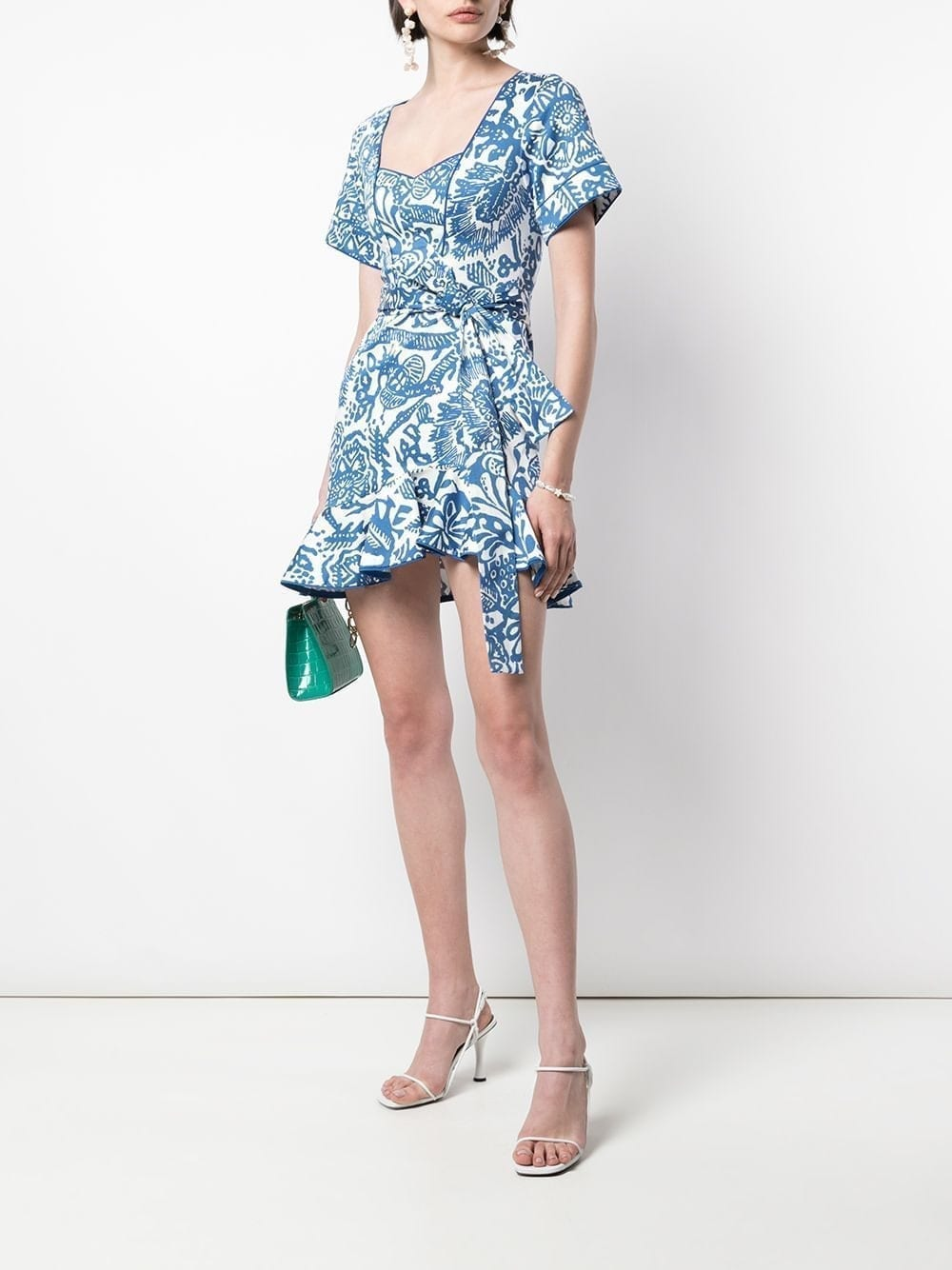 ALEXIS Berenna Abstract Dress