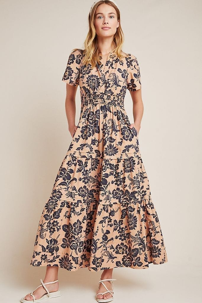 ANTHROPOLOGIE Somerset Maxi Dress