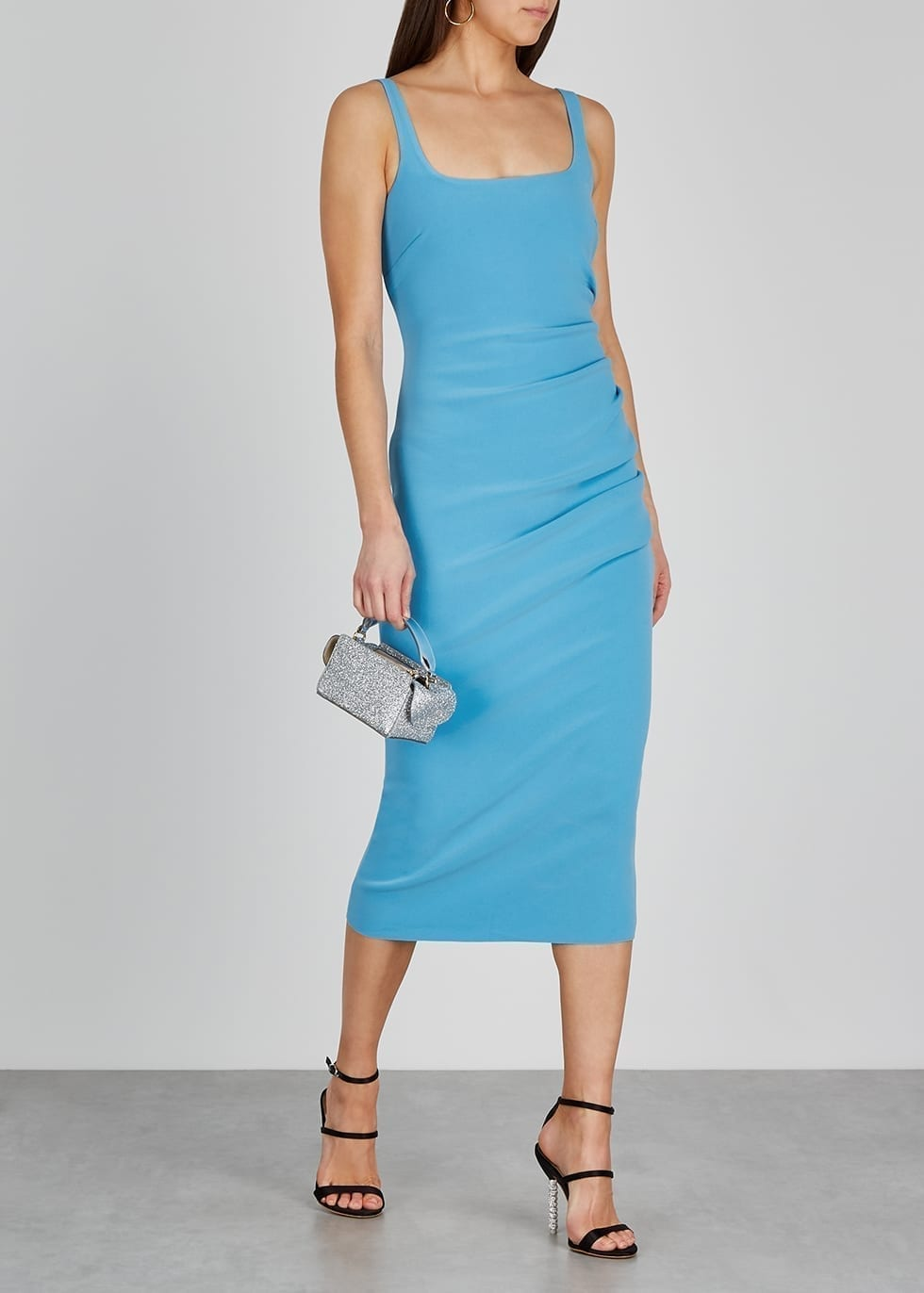 BEC & BRIDGE Paloma Blue Midi Dress