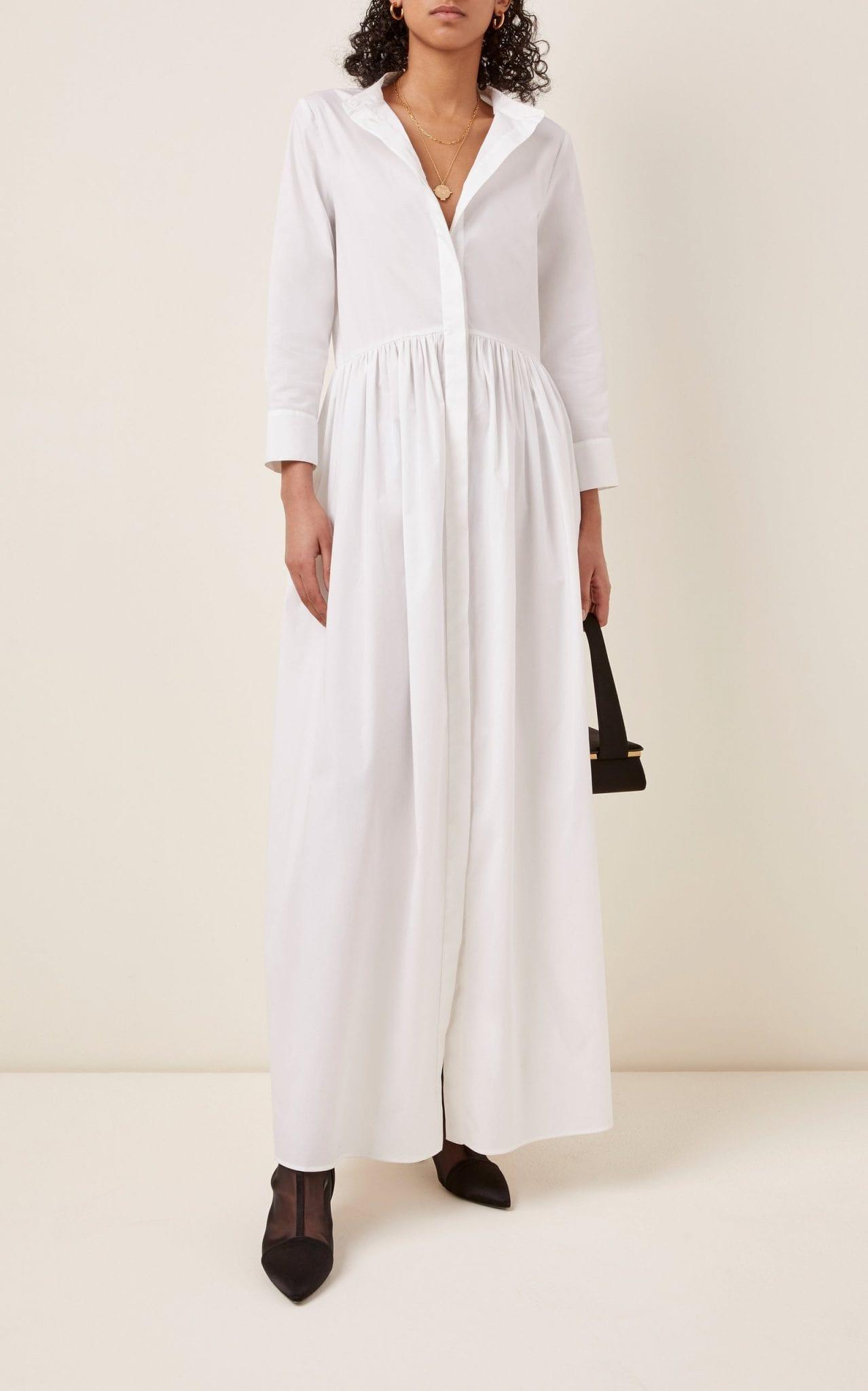 BROCK COLLECTION Cotton-Blend Maxi Dress