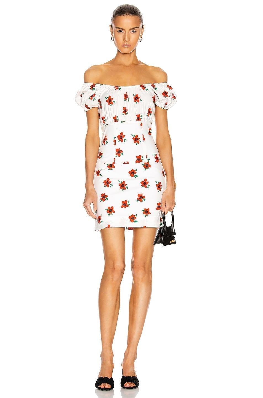 CAROLINE CONSTAS Calla Mini Dress