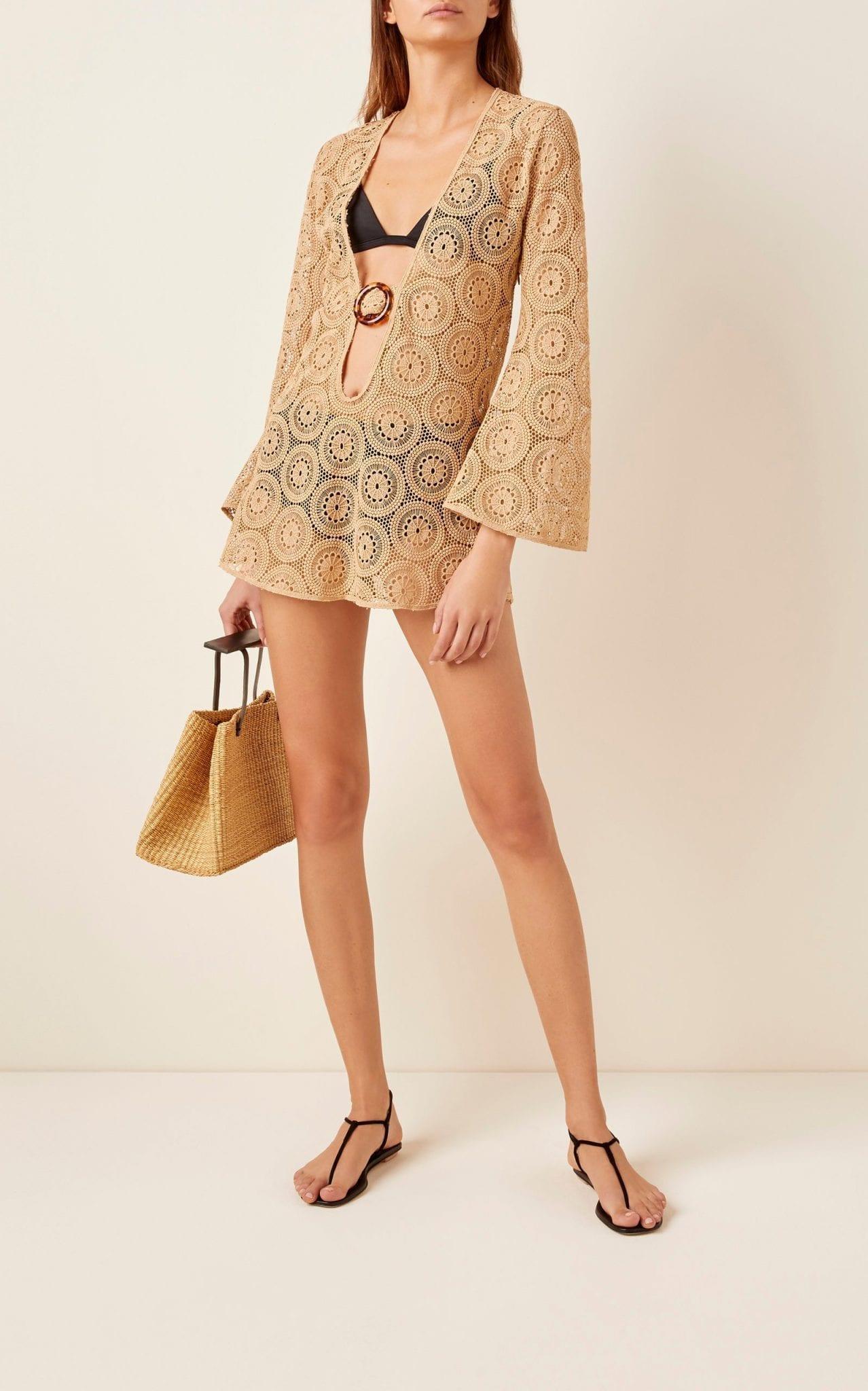 DODO BAR OR Jane Cotton Lace Mini Dress