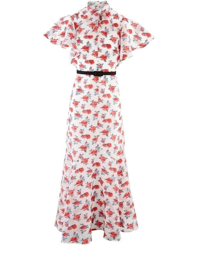 ERDEM Celestina Maxi Dress
