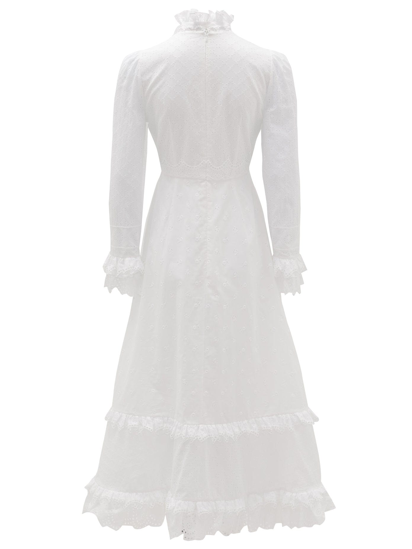 ERDEM Miguella Cotton Broderie-anglaise Midi Dress