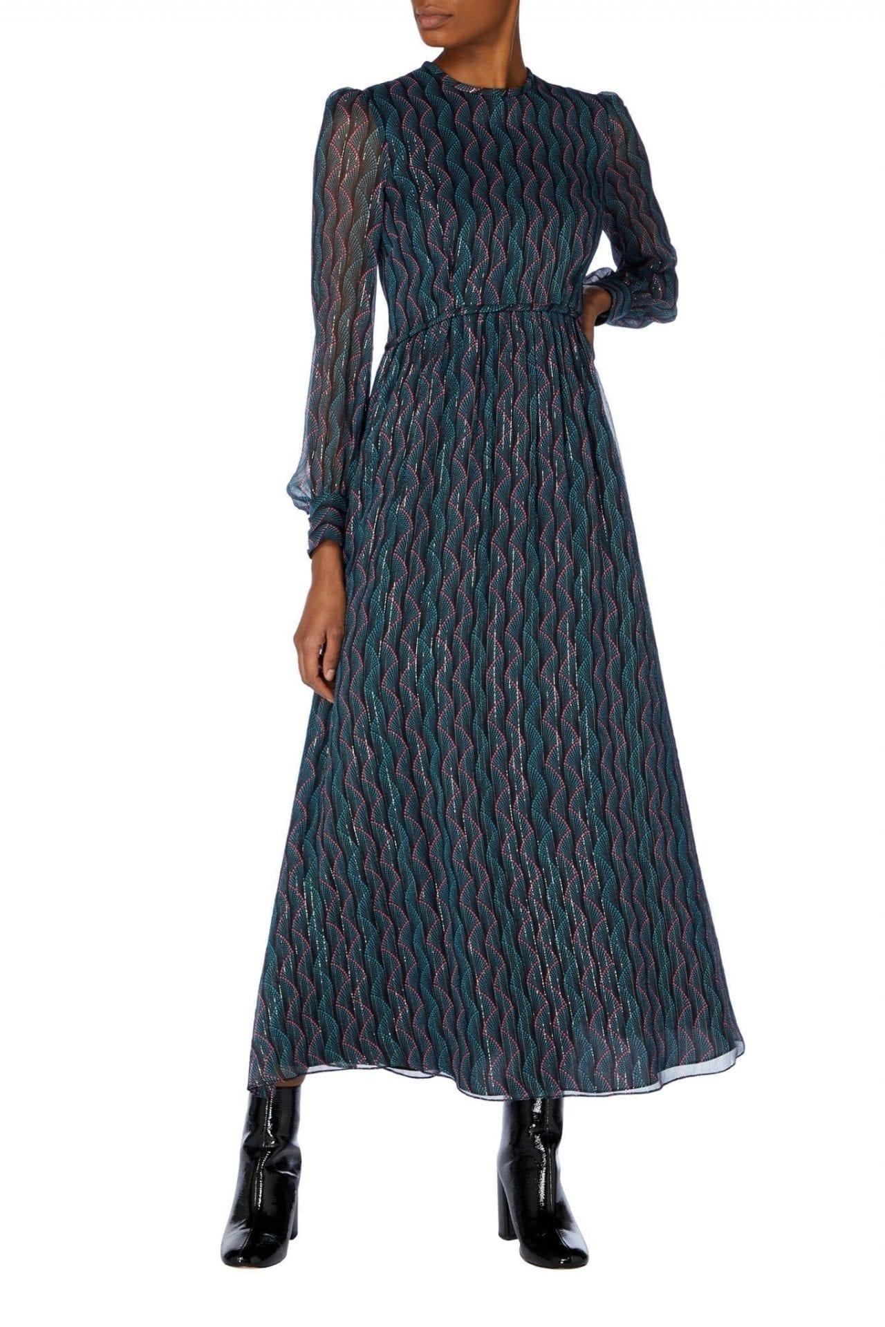 GOAT FASHION Jezabelle Chiffon Gown