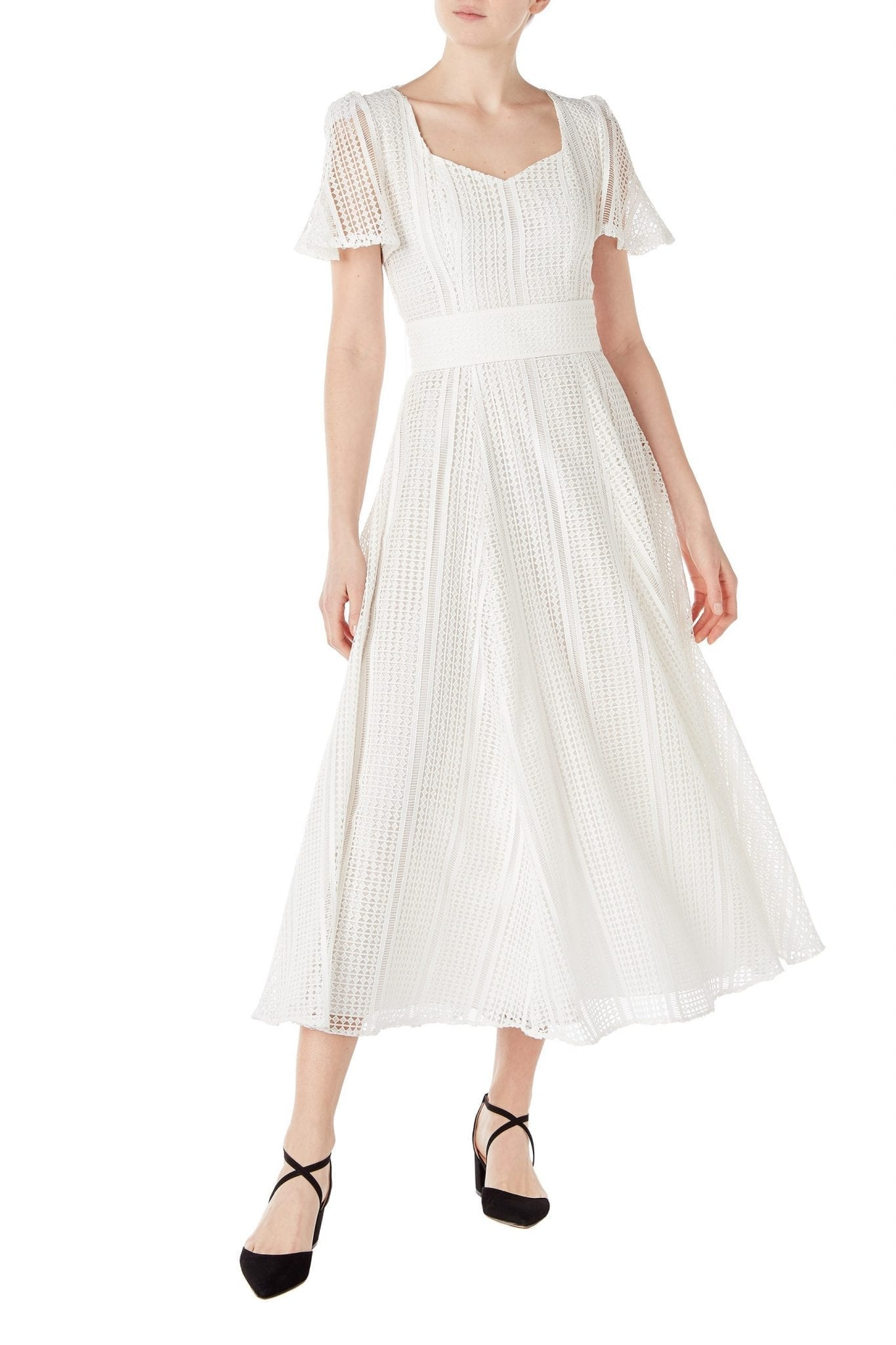 GOAT FASHION Julip Venice Lace Midi Dress