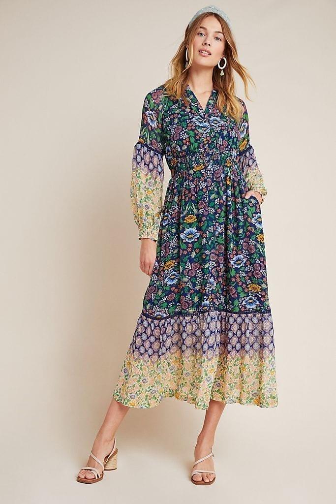 MAEVE Ondine Maxi Dress