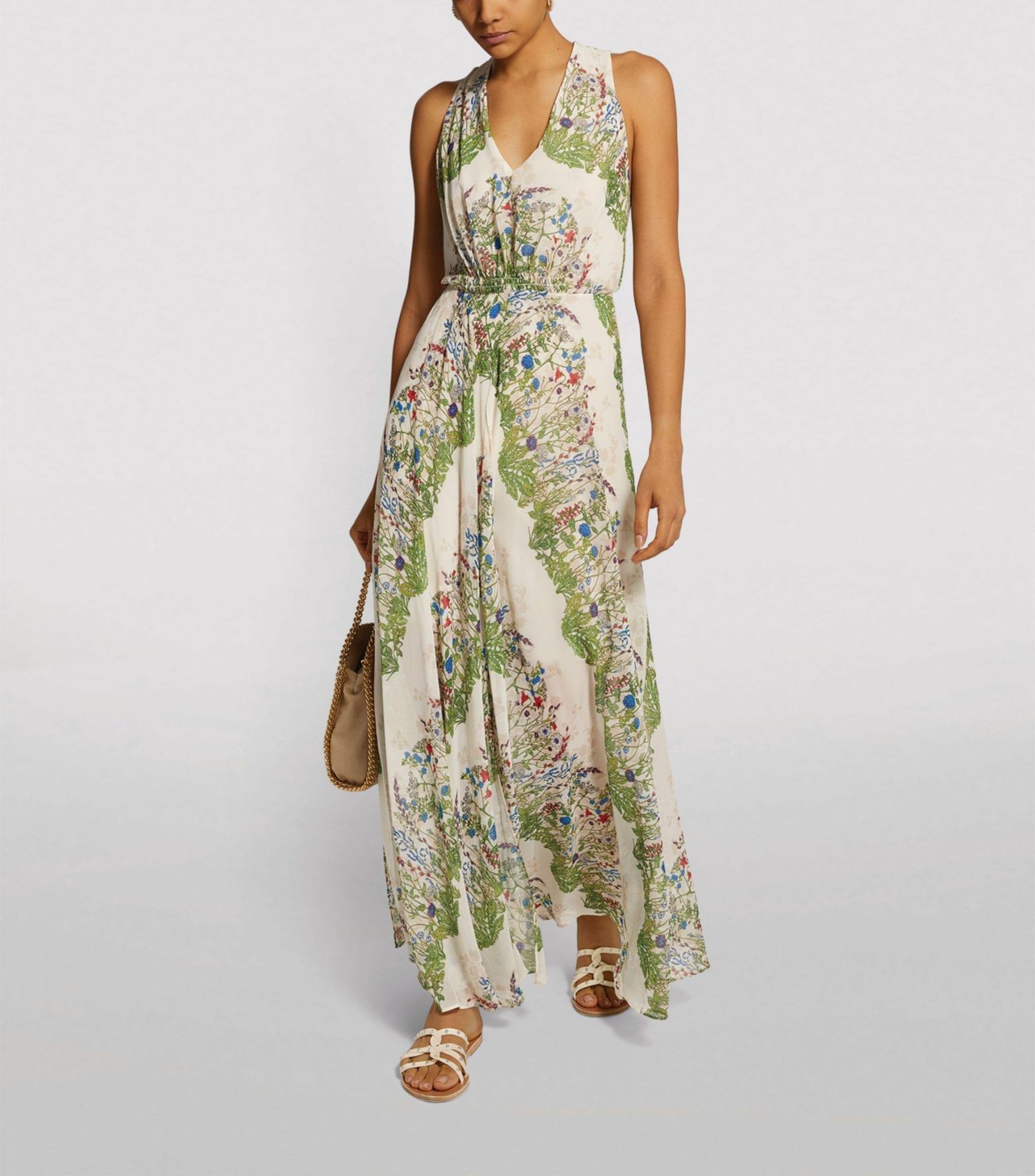 MAJE Floral Maxi Dress
