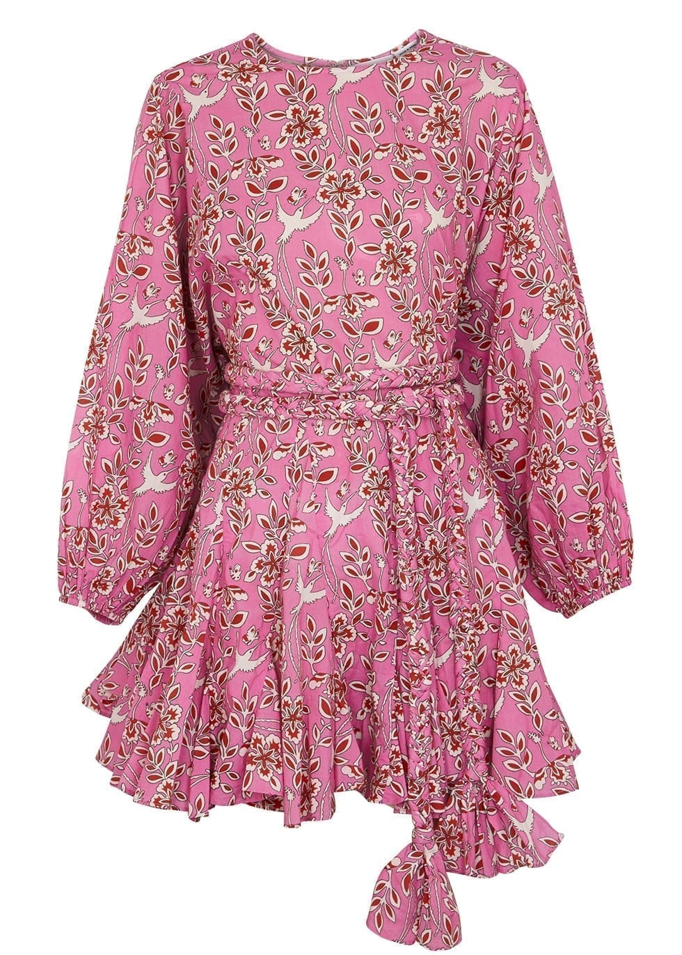RHODE Ella Printed Cotton Dress