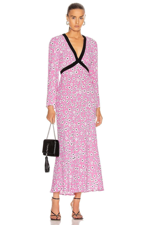 RIXO Tania Dress