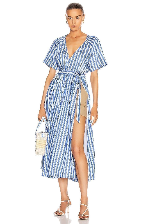 ROSIE ASSOULIN Wrap Skort Dress