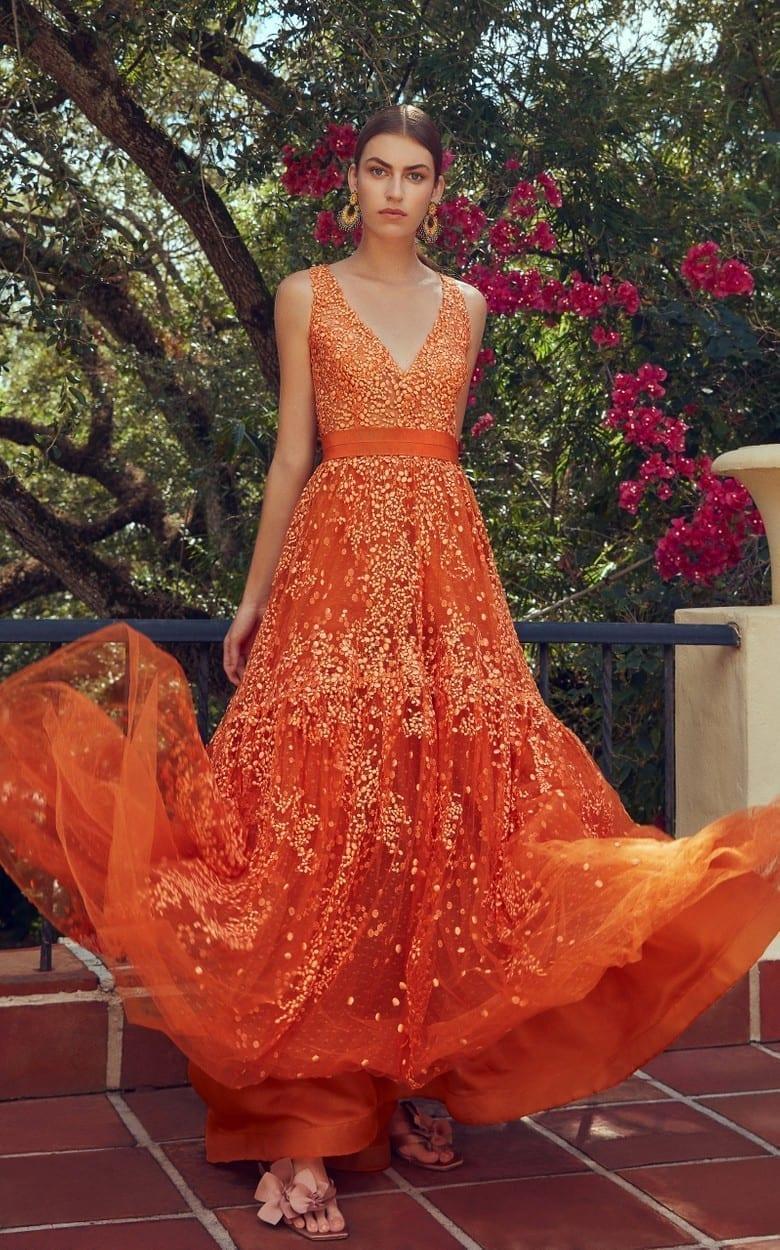 SILVIA TCHERASSI M'O Exclusive Jenna Dress