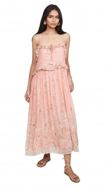 SPELL AND THE GYPSY COLLECTIVE Hendrix Strappy Maxi Dress
