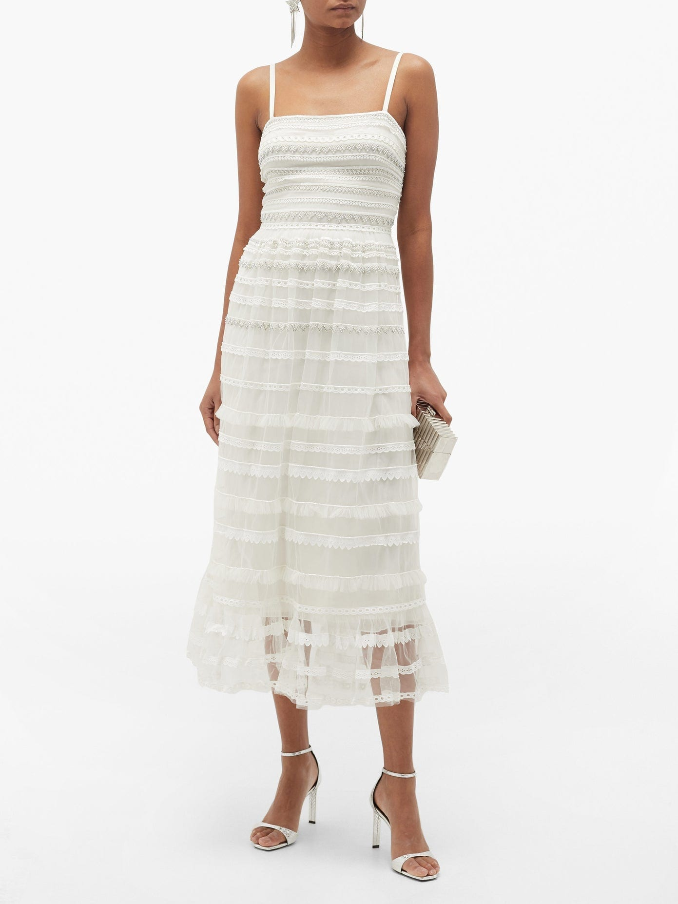 TEMPERLEY LONDON Promise Embellished-tulle Dress