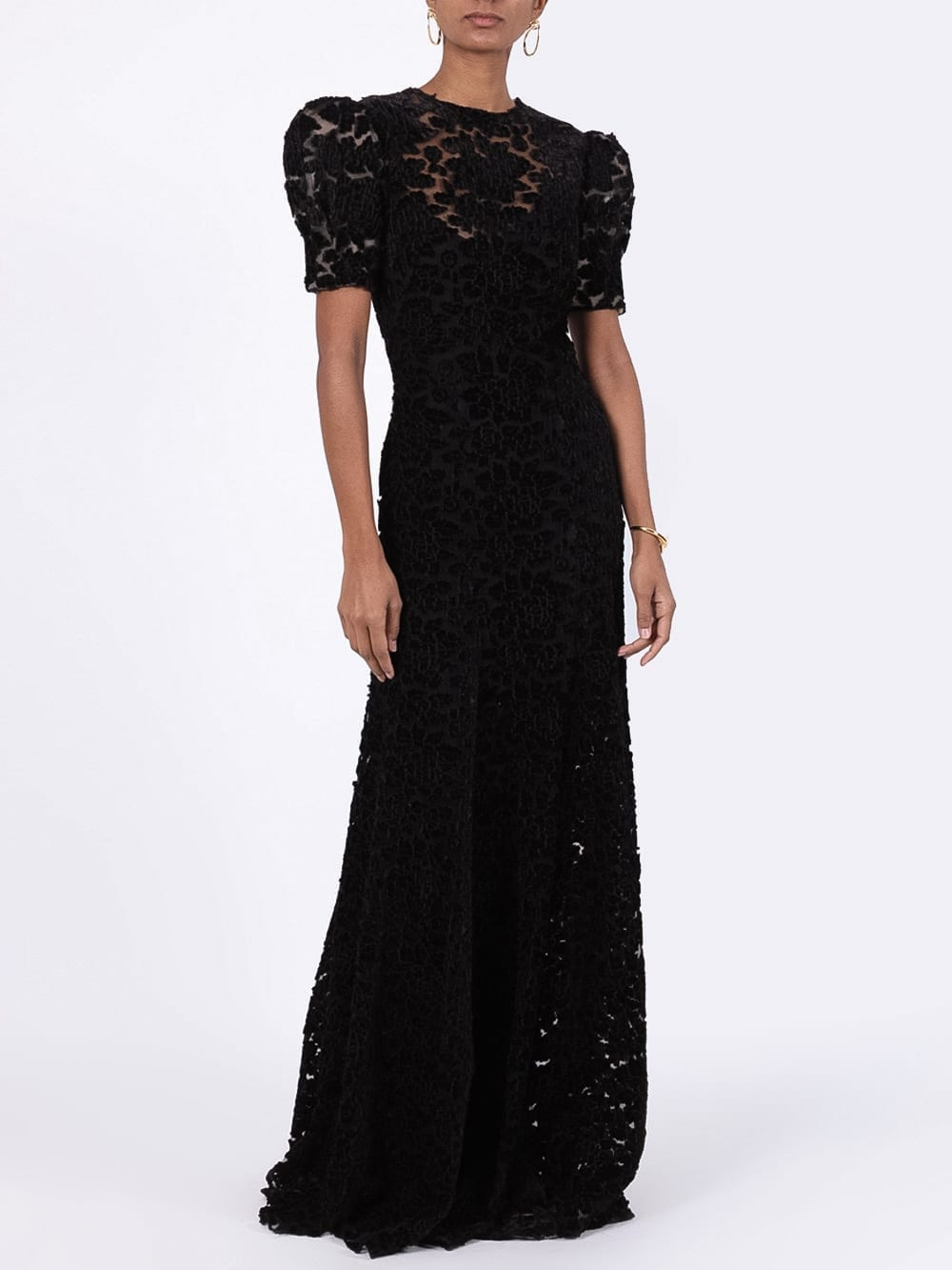 THE VAMPIRE'S WIFE Chevron Detail Dress