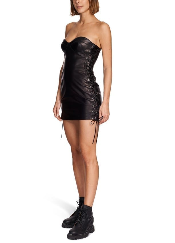 VERSACE Short Black Dress