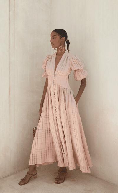 Elegant Tea Dresses For The Girls Brunch Zoom Call