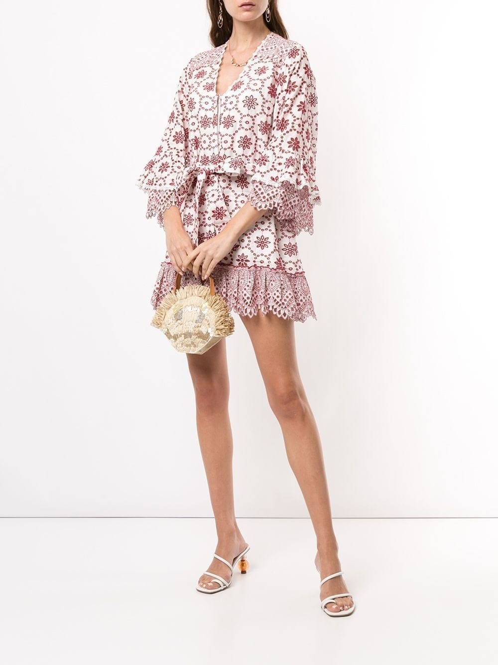 ALEXIS Gladys Embroidered Mini Dress