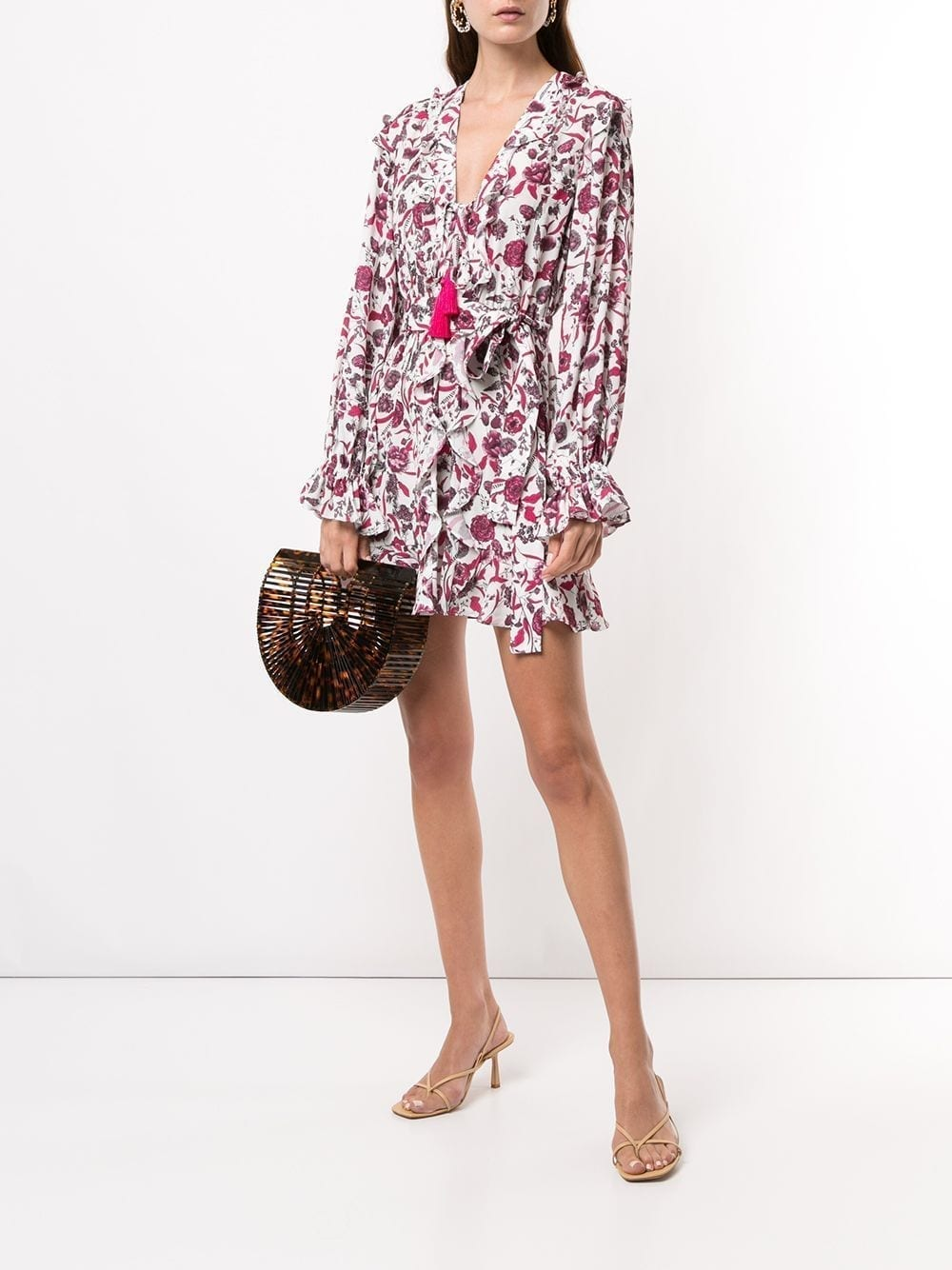 ALEXIS Kosma Floral Print Mini Dress