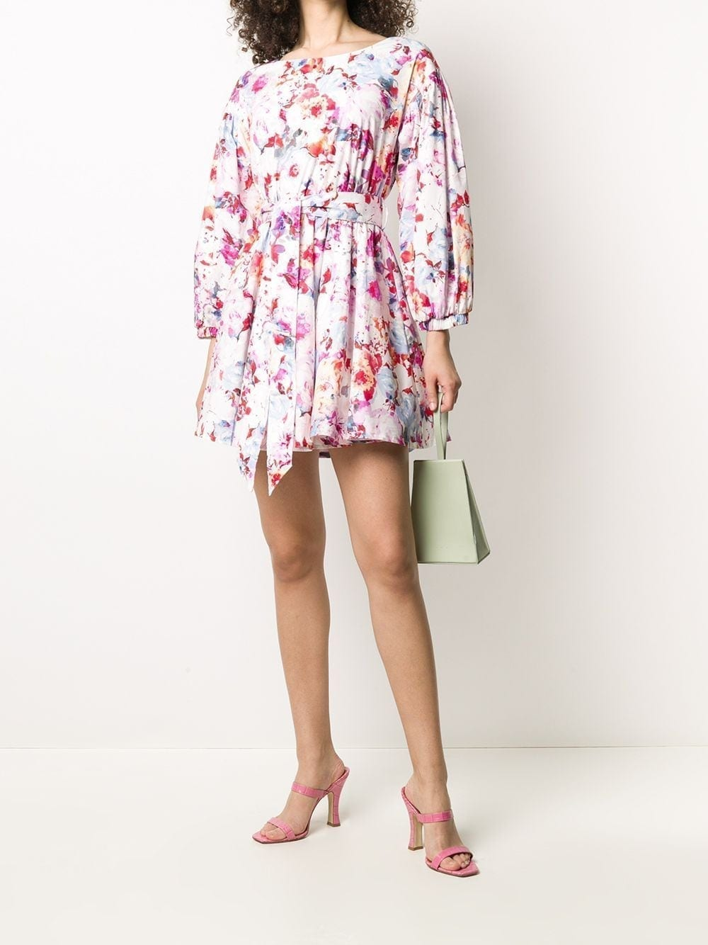 ANDAMANE Doina Floral Mini-Dress