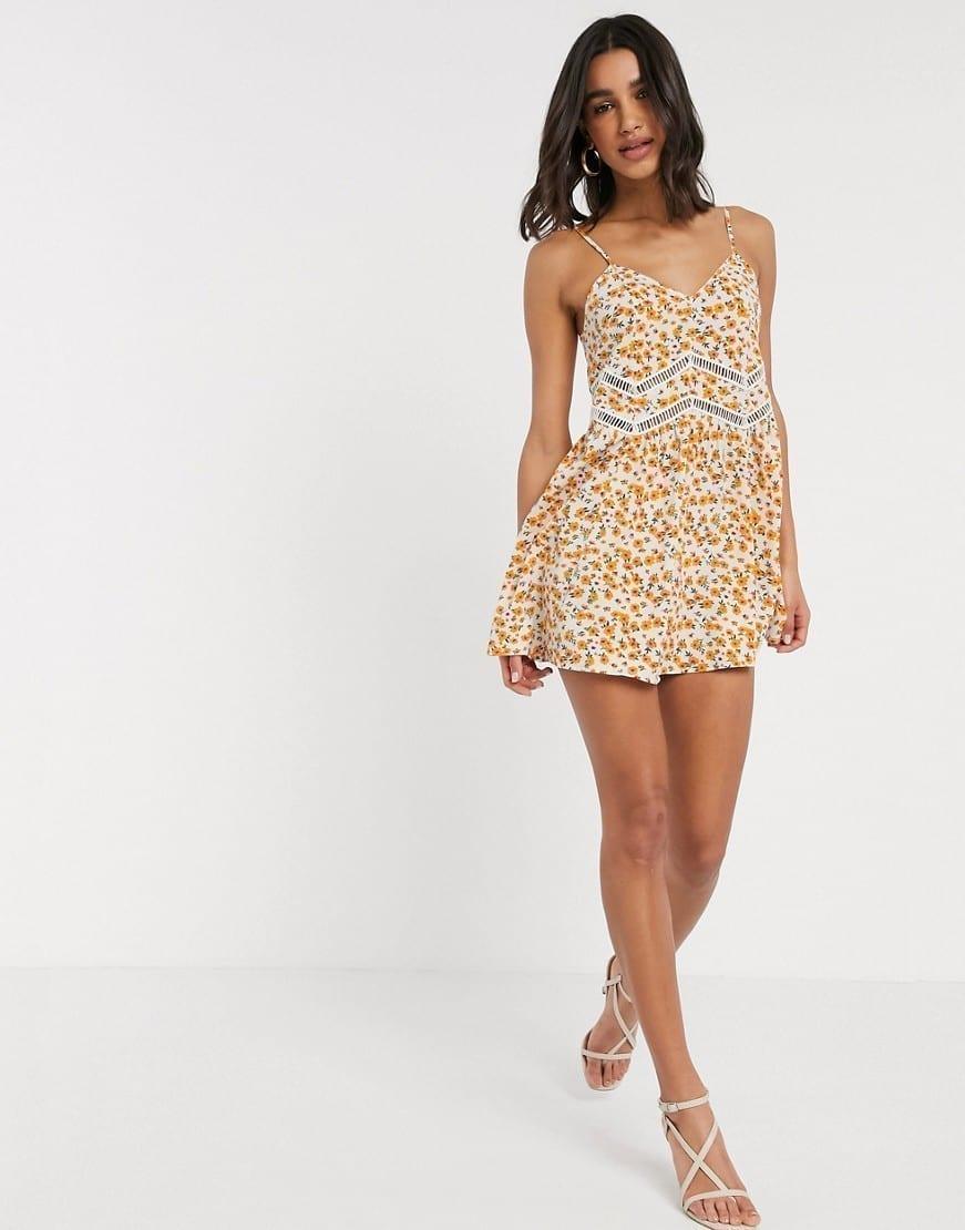 ASOS DESIGN Swing Mini Sun Dress