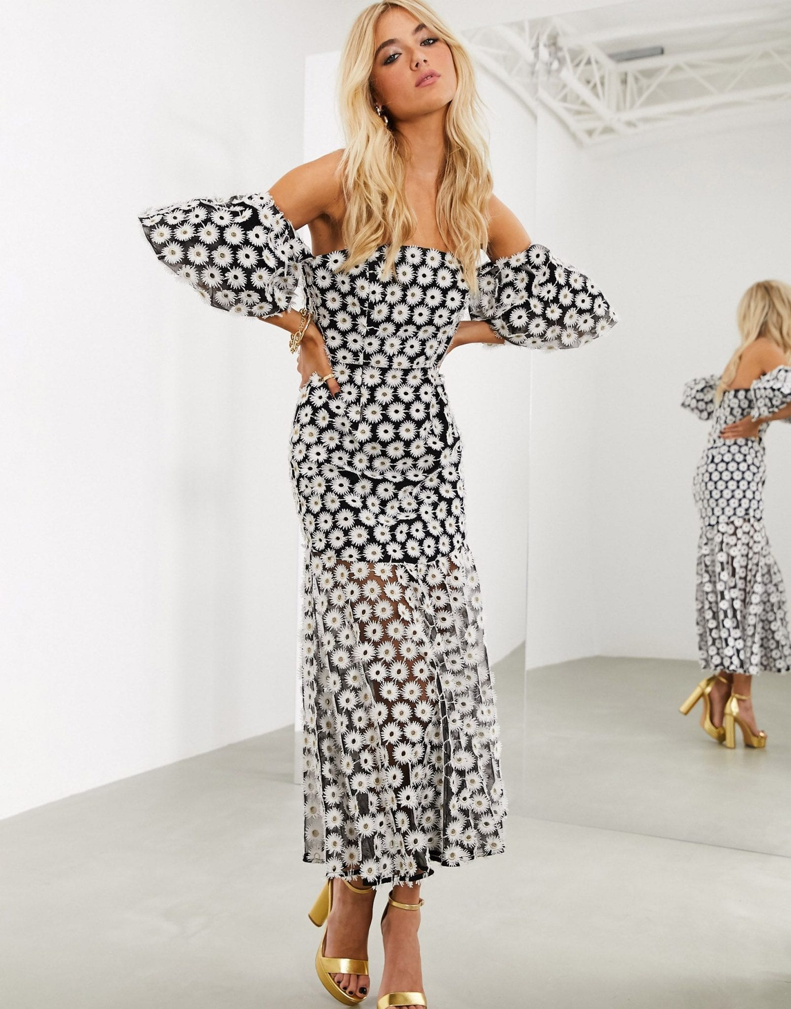ASOS EDITION Off Shoulder Dress
