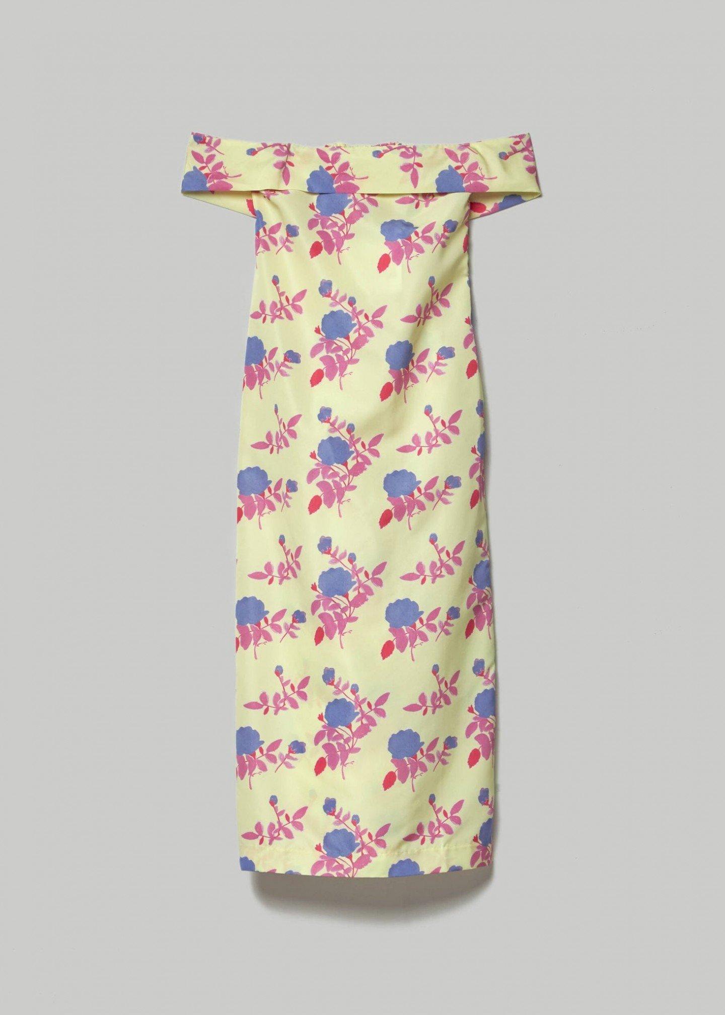 BERNADETTE Julia Taffeta Dress