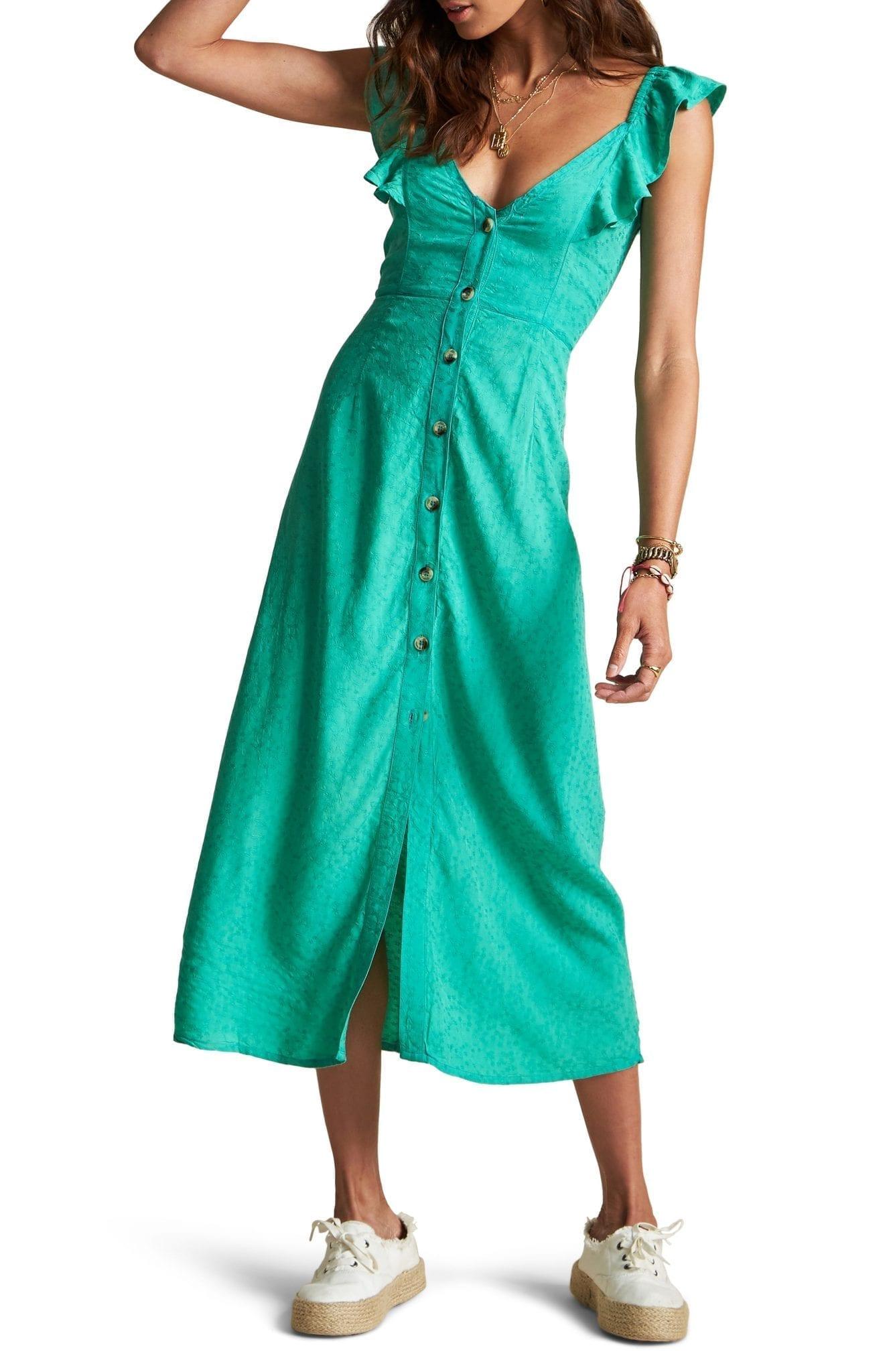 BILLABONG x Sincerely Jules Love Tripper Embroidered Dress