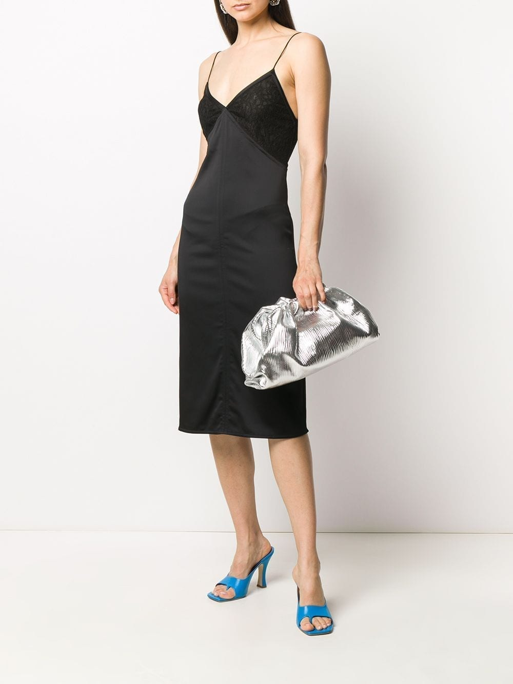 BOTTEGA VENETA Slip Midi Dress