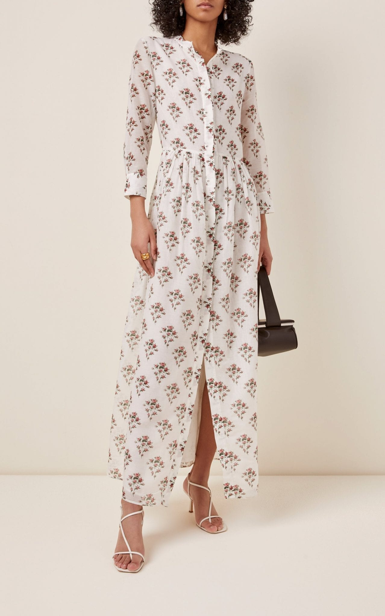 BROCK COLLECTION Floral-Print Cotton-Silk Dress