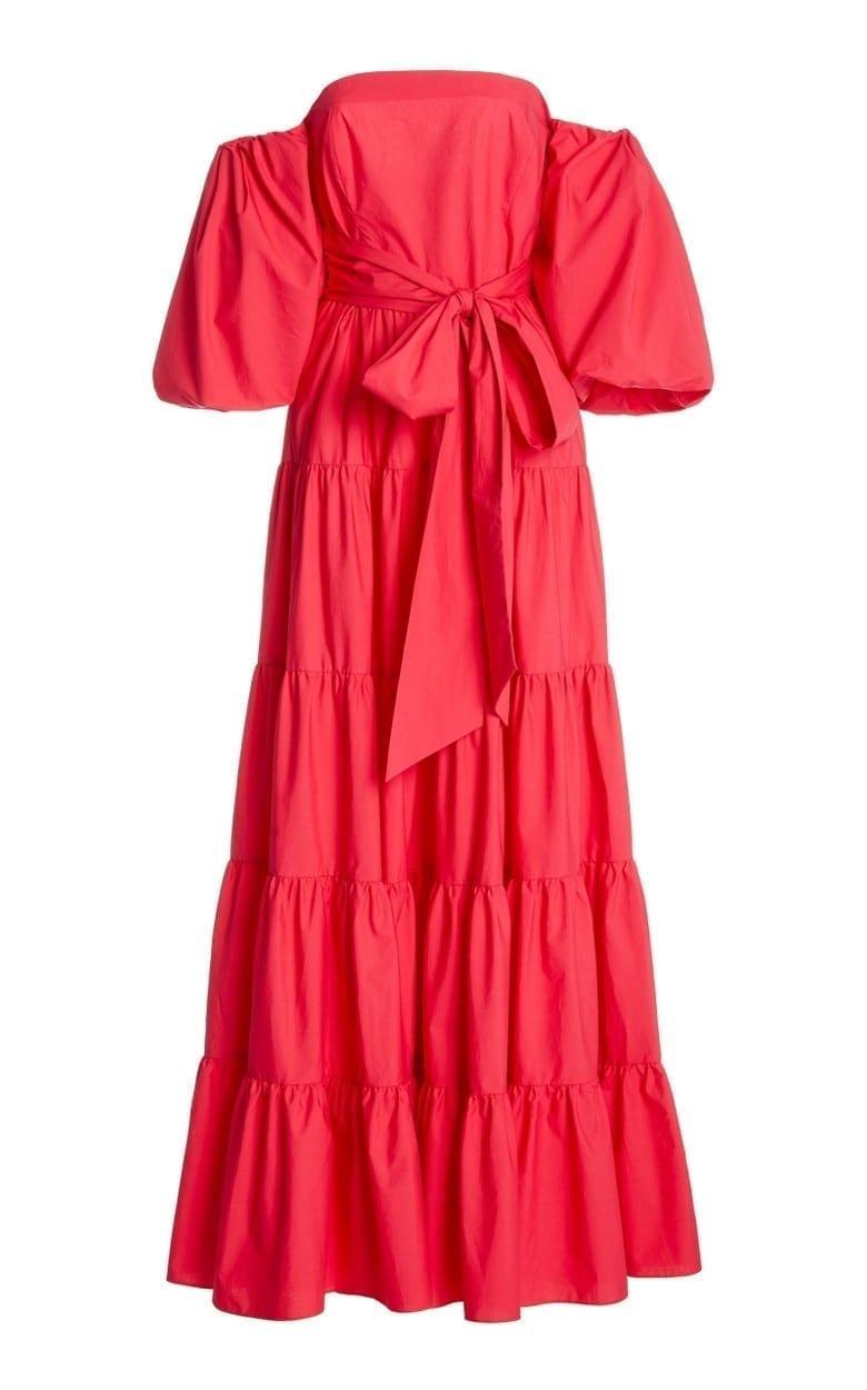 CARA CARA Wethersfield Cotton-Poplin Maxi Dress