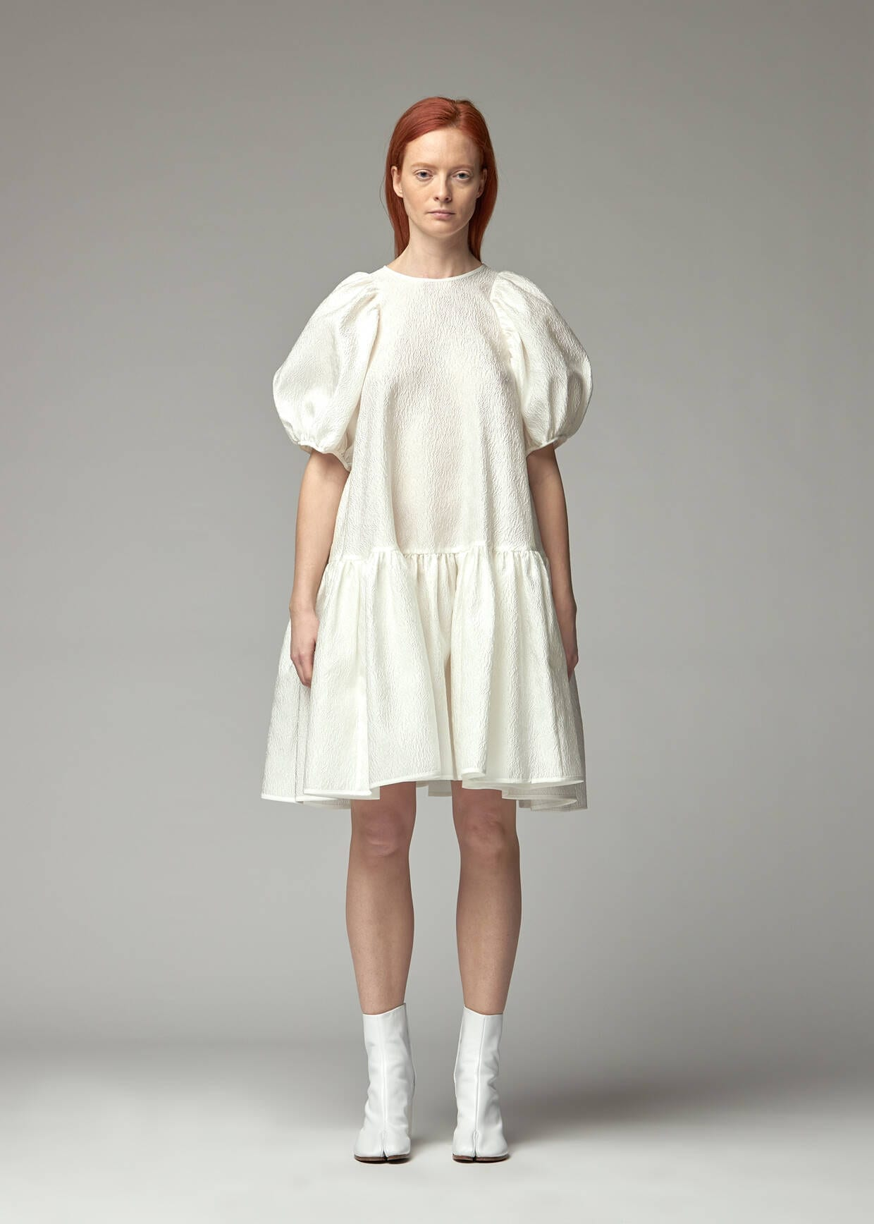 CECILIE BAHNSEN Puff Sleeve Dress