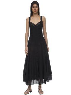 CHARO RUIZ Corazon Cotton Maxi Dress