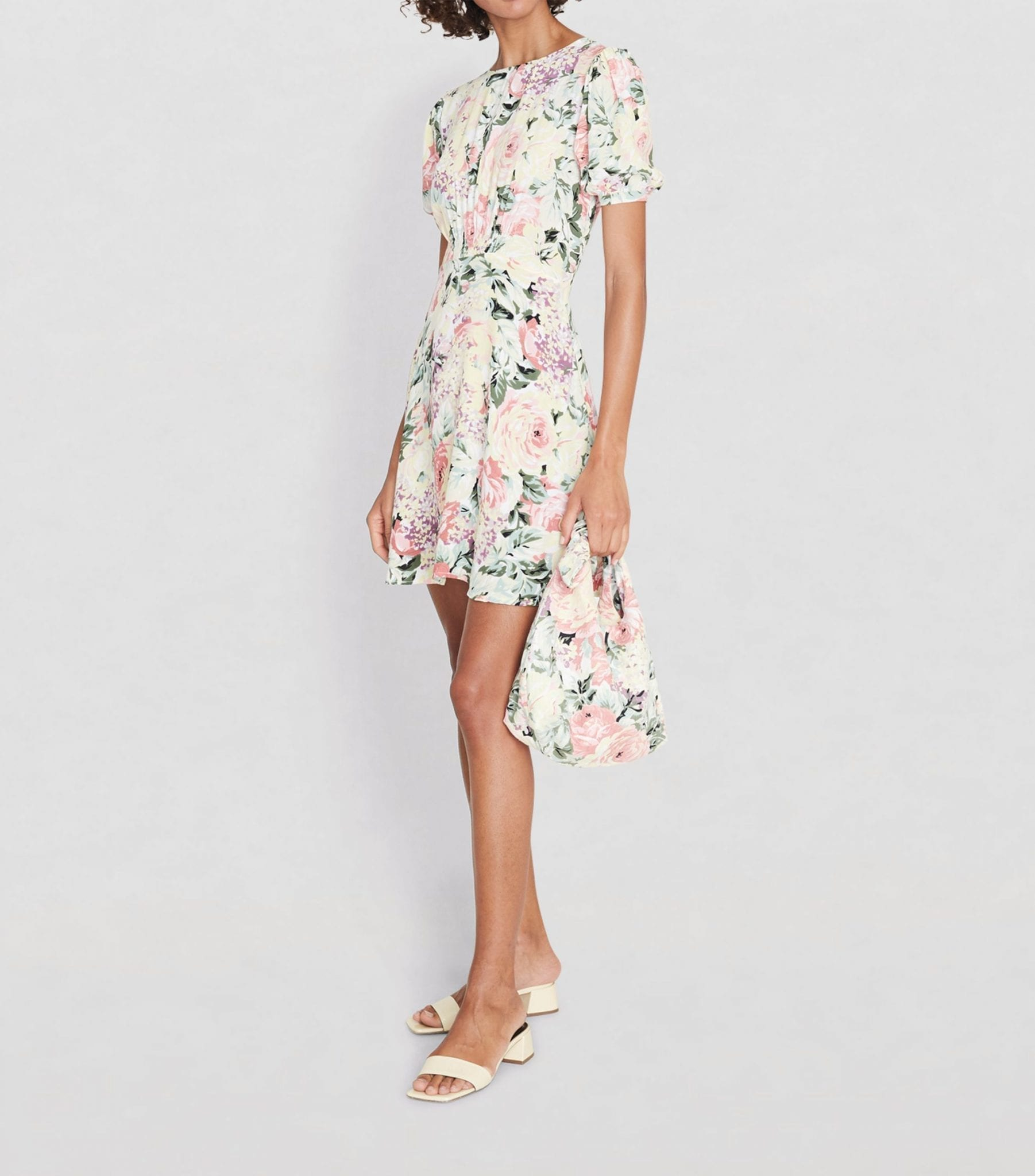 FAITHFULL THE BRAND Floral Sidonie Mini Dress